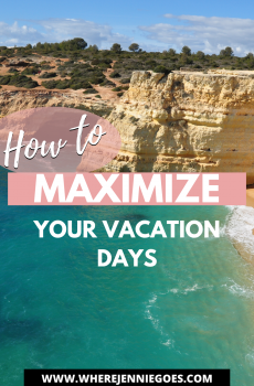 Maximize vacation days